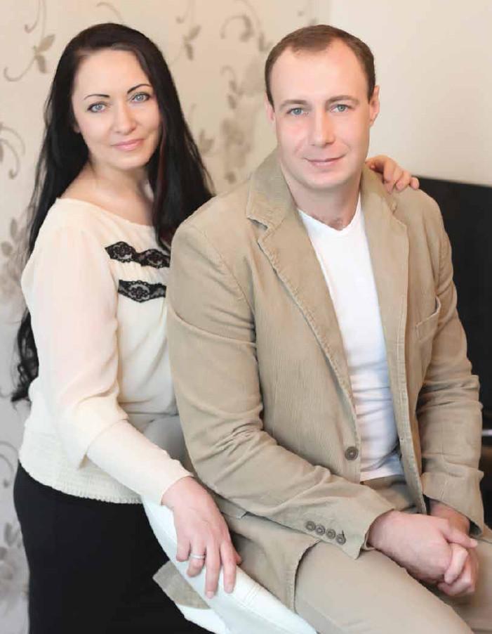Дмитрий и Татьяна Кравченко